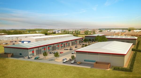 New 125,000 sq ft industrial scheme at Silverstone Park