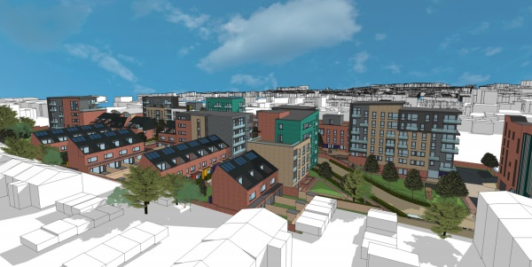 Guildford council plans 160 homes