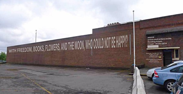 Reading Prison art exhibition gets go-ahead