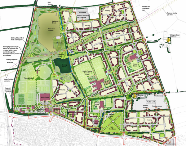 University of Reading scheme for 1,880 homes at Didcot gets go-ahead