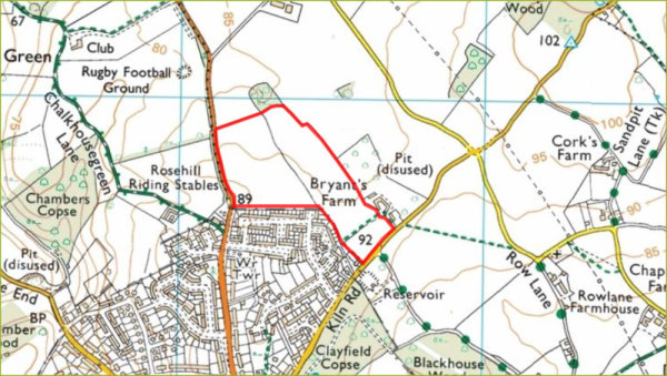 Gladman Developments plans 270 homes at Emmer Green.