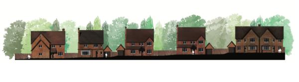 Plan for 95 homes at Thames Farm, Shiplake