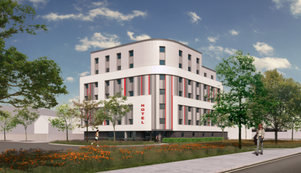 99-bedroom hotel planned for Slough