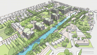 Slough agrees both £140m housing plan and canal basin scheme