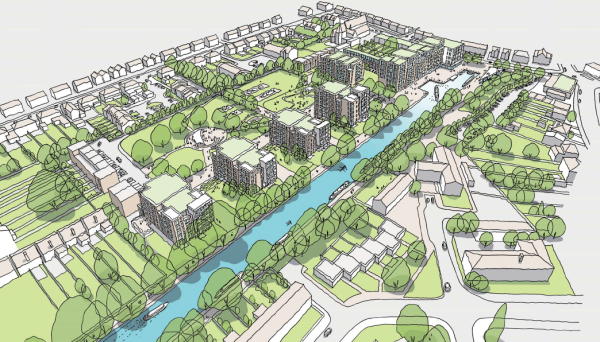 Councillors consider major plans for Slough canal basin