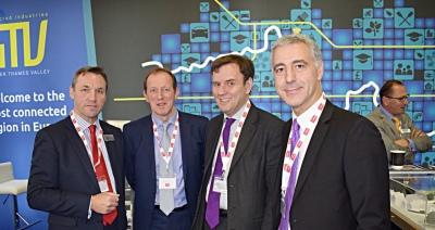 MIPIM UK: Minister Greg Hands visits Greater Thames Valley