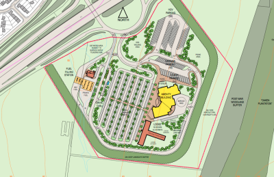 New M3 service station planned at Basingstoke