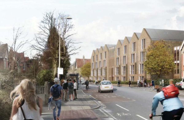 Wadham College Oxford plans new student block