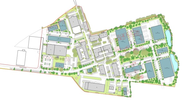 Grove Business Park plans delayed after 11th hour move
