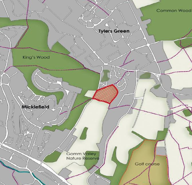 Serviced housing plots go on display
