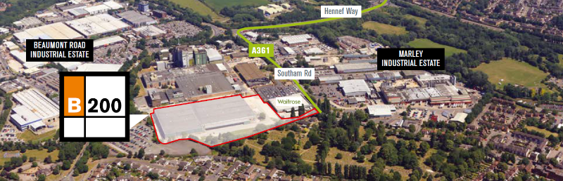 200,000 sq ft Banbury warehouse sold