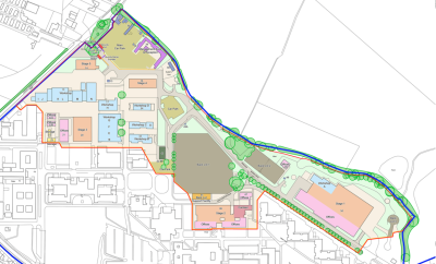 Film studio plan for Arborfield Garrison