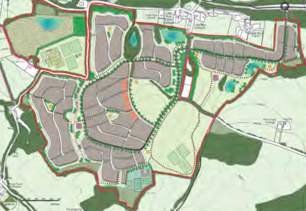 Last chance for comments on Rye Common proposal for 1,500 homes