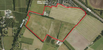 Milton Heights plan for 458 homes