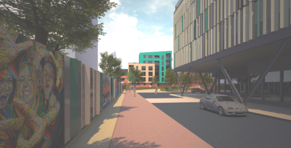 160 homes approved next to Guildford station