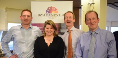 Figgy Pudding Christmas lunch guests hear thoughts of TVPA winner