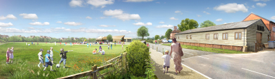 700 homes and a school proposed at Elvetham Chase, Fleet