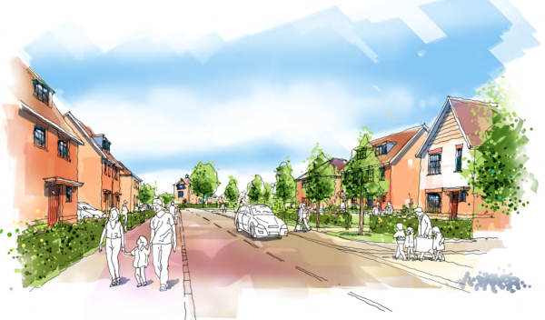 116 homes planned for Warfield