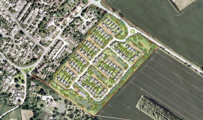 Wates Developments plans 120 homes at Chalgrove