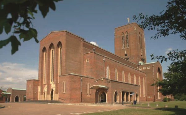 Site visit for homes plan aimed at saving Guildford Cathedral