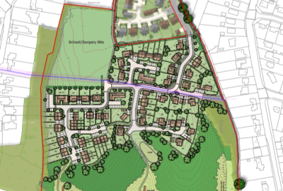 Consultation starts on 110 homes and public open space at Mortimer