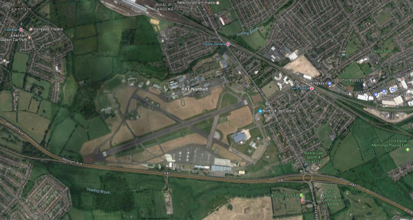 Hillingdon to fight for RAF Northolt after call to build 20,000 homes