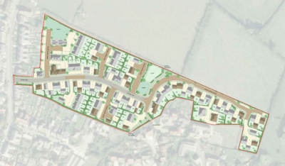Plan for 87 homes at Aylesbury