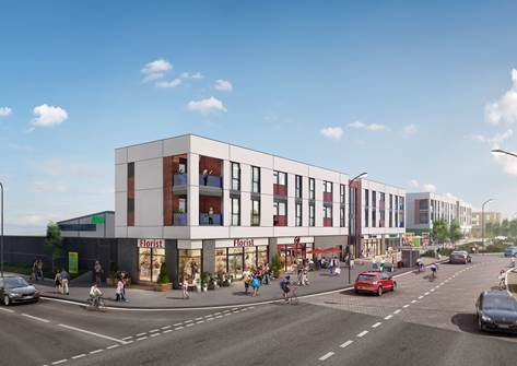 New Didcot district centre now 60% let