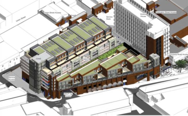 Flats plan on top of Aldershot multi-storey car park