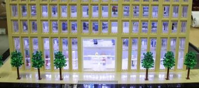 The Porter Building made of Lego