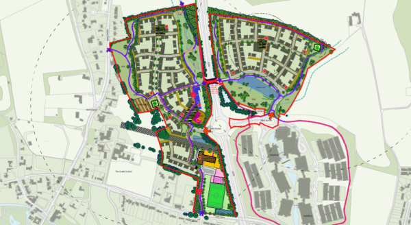 CEG scheme for 401 homes at North Newbury is won on appeal