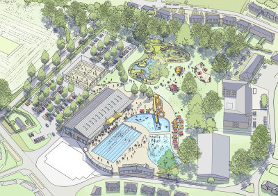 New swimming and sports complex could replace Aldershot Lido