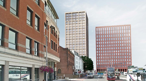 Titan Property withdraws plans for 107 flats in Reading town centre