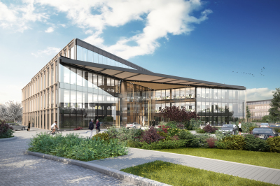 Minister announces name for new building at Oxford Science Park