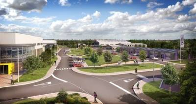 Grove Business Park redevelopment goes on display