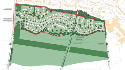 100 homes approved on Hungerford AONB site