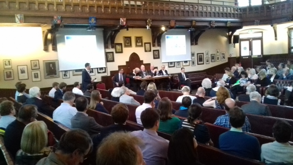 Mayoral candidates on City Deal, Brexit, housing and transport at Cambridge Union