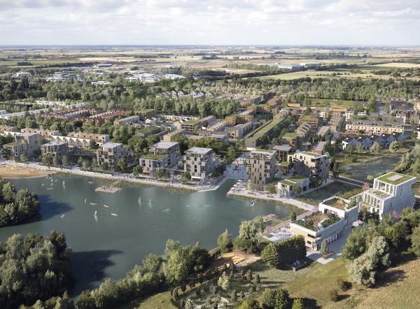 Waterbeach Barracks-'lakeside community' plan