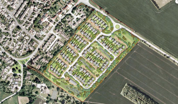 120 homes planned for Chalgrove