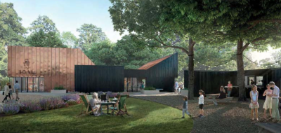 Visitors' centre plan for The Oxford Artisan Distillery