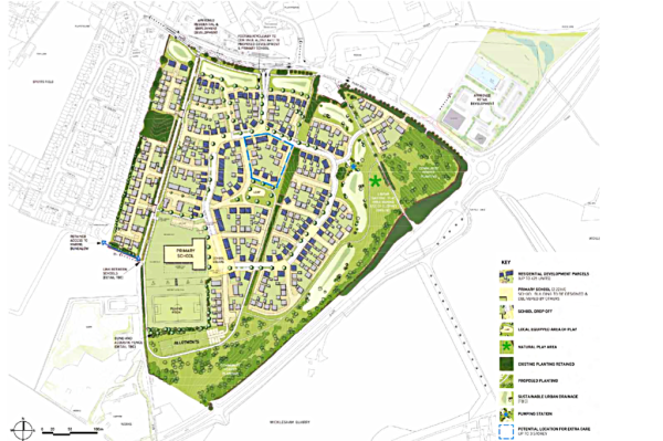 425 homes planned at Faringdon
