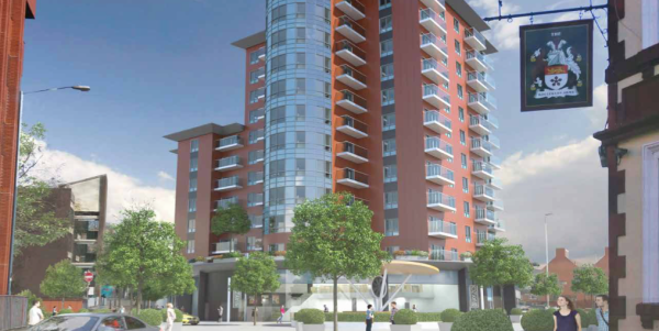 101 flats plan for Swindon on market site