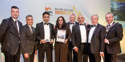 Hat-trick of awards for Slough building control team