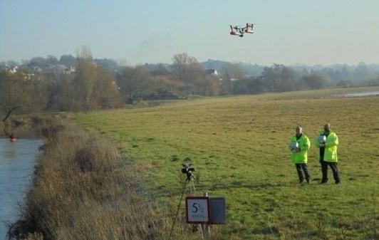 Drones used to inspect bridges