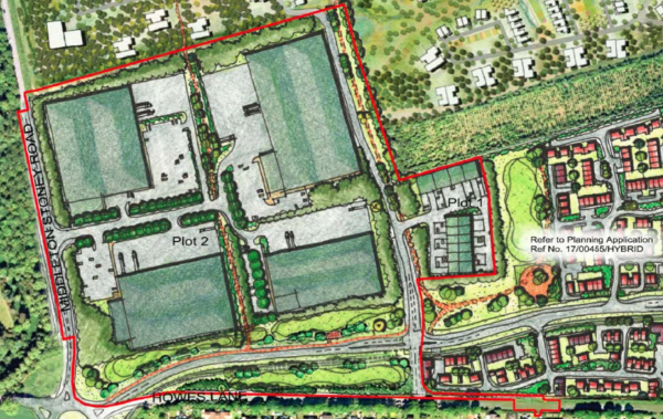 Albion Land submits plans for 53,000 sq m of industrial and distribution space