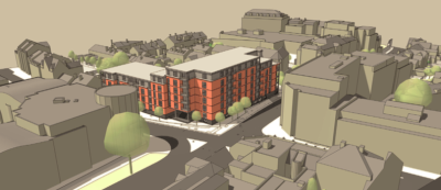 79 flats planned for Silver Street junction in Reading