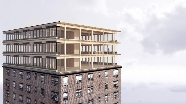 Could vertical add-ons solve city space crisis?