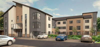 Demolition and rebuilding plan for 60 bed care home