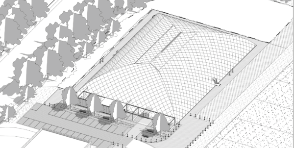 Plans approved for new Reading FC training dome