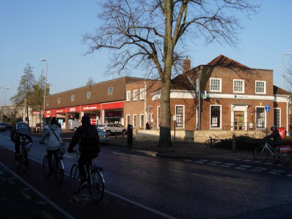 Development proposal for Mitcham's Corner in Cambridge